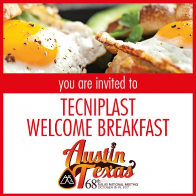 You Are Invited - AALAS 2017 Sneak Peek Welcome Breakfast