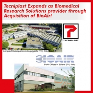 Tecniplast Expands as Biomedical Research Solutions provider through Acquisition of BioAir.