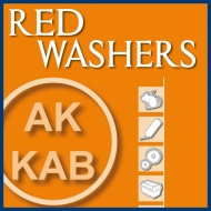 RED WASHERS AK-KAB Certified. Facts are the best claim!