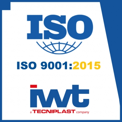 IWT OBTAINED THE LATEST GENERATION OF CERTIFICATION ISO 9001:2015