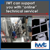 Did you know that IWT can support you with 'online' technical service?
