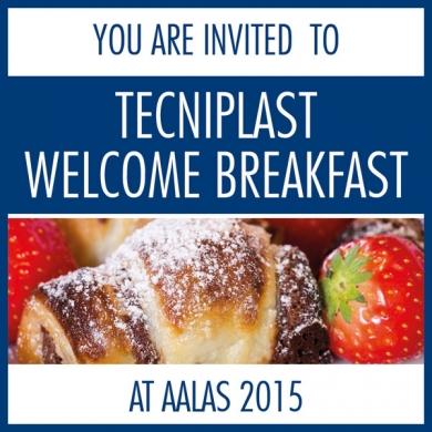 You Are Invited - AALAS 2015 Sneak Peek Welcome Breakfast