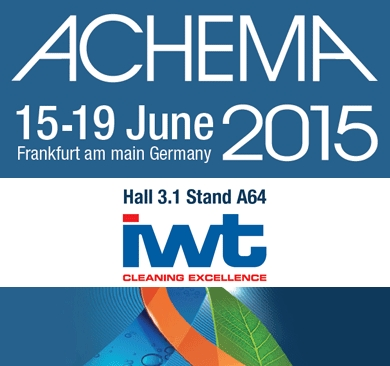 IWT at next ACHEMA Exibition