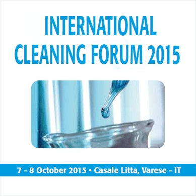 INTERNATIONAL CLEANING FORUM 2015