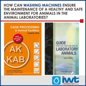 How can washing machines ensure the maintenance of a healthy and safe environment for animals in the Animal Laboratories?