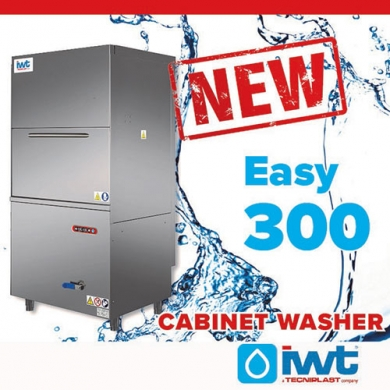 IWT's cabinet washer portfolio is now complete with its latest product: WELCOME Easy 300!!!
