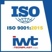 IWT a obtenu la dernière version de la certification ISO 9001:2015